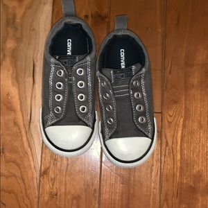 Barely Worn Converse Kids Slip-On Shoes